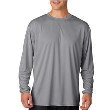 poliéster manga larga rápido en seco camisas de pesca