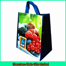 OEM Bopp laminated pp woven shopping bag