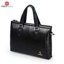 Custom Stylish 2014 Black Leather Messenger Bags for Men