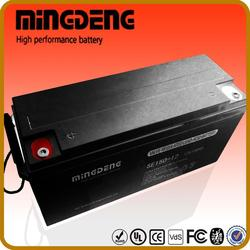high quality 150amp 12volts broken solar cells battery