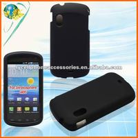 Black Phone Case For Samsung I405 Stratosphere Android Rubberized Hard Mobile Accessory