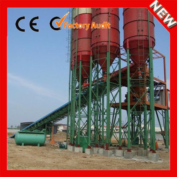 Small Cement Plant : Mini small cement plant hzs twin shafts mixer concrete