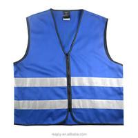 Blue Reflective Safety Vest