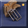 2015 high quality rectangle gun 25 mm metal belt buckle screw for belt in alibaba