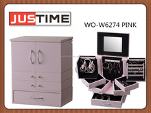 Jewelry Box for storage, eyebrow, eyeliner, cosmetics; Jewellery makeup Cabinet, Comestics cabinet for make up hair