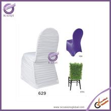 #17935 Chiffon disposable wedding folding chair covers