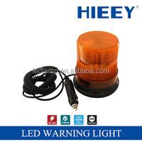 LED alarm lamp truck Led Warning light Magnetic base LED beacons with rotating function LED strobe light