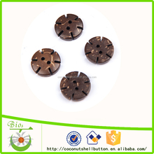 13mm 2 holes coconut flower shape floral sewing buttons
