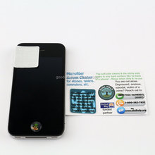 Guangzhou Promotional customized sticky phone screen cleaner / adhesive microfiber screen cleaner