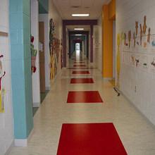 indoor commercial Homogeneous pvc roll flooring