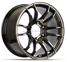 HE-198 22x10 6x139.7 offroad 4x4 rims for SUV car alloy wheel