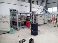 DCPD wax injection machine for automobile panel