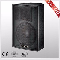 YAZOO Martin style F12 300W 8ohm 12inch cheap high quality professional passive stage speaker