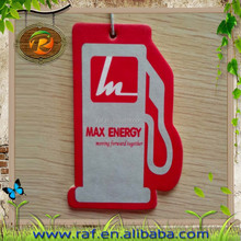 light red Guangzhou hot style best selling Wholesale New Design Promotional Paper Car Air Freshener