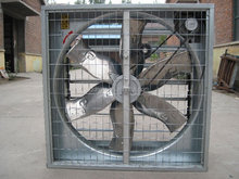 Industrial centrifugal exhaust fan for factory with long time operation