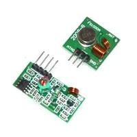 RF wireless receiver module & transmitter module board Ordinary super- regeneration 433Mhz DC5V 2pair/Lot =4pcs