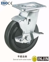 200mm dia hand pallet truck rubber wheel