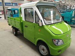 China manufacturer made closed cabin electric cargo van