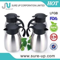 Hot sell in Kenya market vacuum airpot pump pot coffee jug in 2015(JSUQ)
