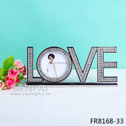 Hot sell Diamond Love Picture Frame for Gifts