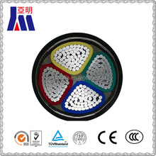 4 core 95mm2 aluminum underground steel tape armoured electric power cable and wire