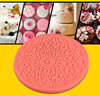 Food Grade silicone fondant lace mold sugar art modeling tools