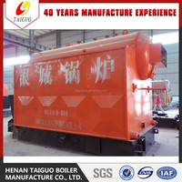 Safe and high performance horizontal coal fired steam boiler for cooking from 37 years senior manufacturer