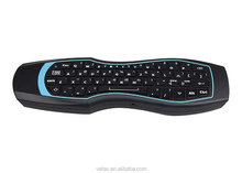 wireless multimedia mini keyboard with remote control