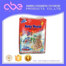 Newest products cute disposable fine baby diapers for new born baby,wholesale baby diapers