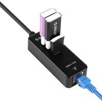 ORICO HR03-U3 SuperSpeed 3 port usb hub and USB 3.0 to RJ45 Gigabit Ethernet Adapter