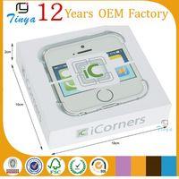 White square mobile phone accessory box