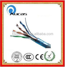 UTP/FTP/SFTP lan cable cat5e cat6 305m 4 twisted 8 cores