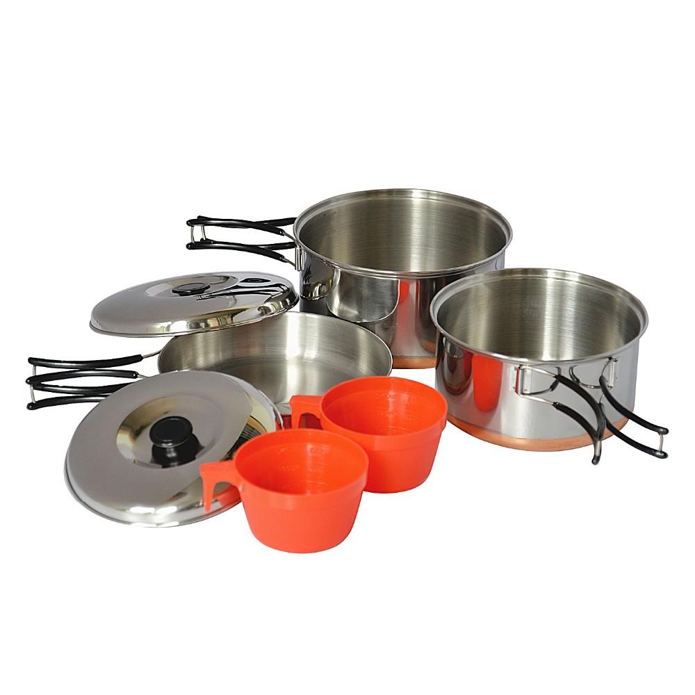 Mat riel de camping ustensiles de cuisine kit camping for Kit ustensiles cuisine