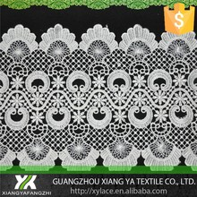 84007 100% polyester manufacturers embroidery strips chemical venise lace african lace in china