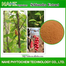 Prevent hepatitis and protect liver fructus 2% natural Deoxyschizandrin Schizandra Chinese Fruit Extract