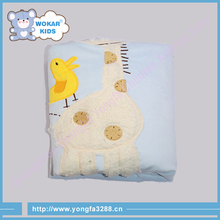 2015 Fashion Design Top Quality Polyester Coral Fleece Baby Blanket