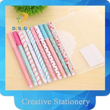 new fashion for school and office ball point 10 pieces point pen