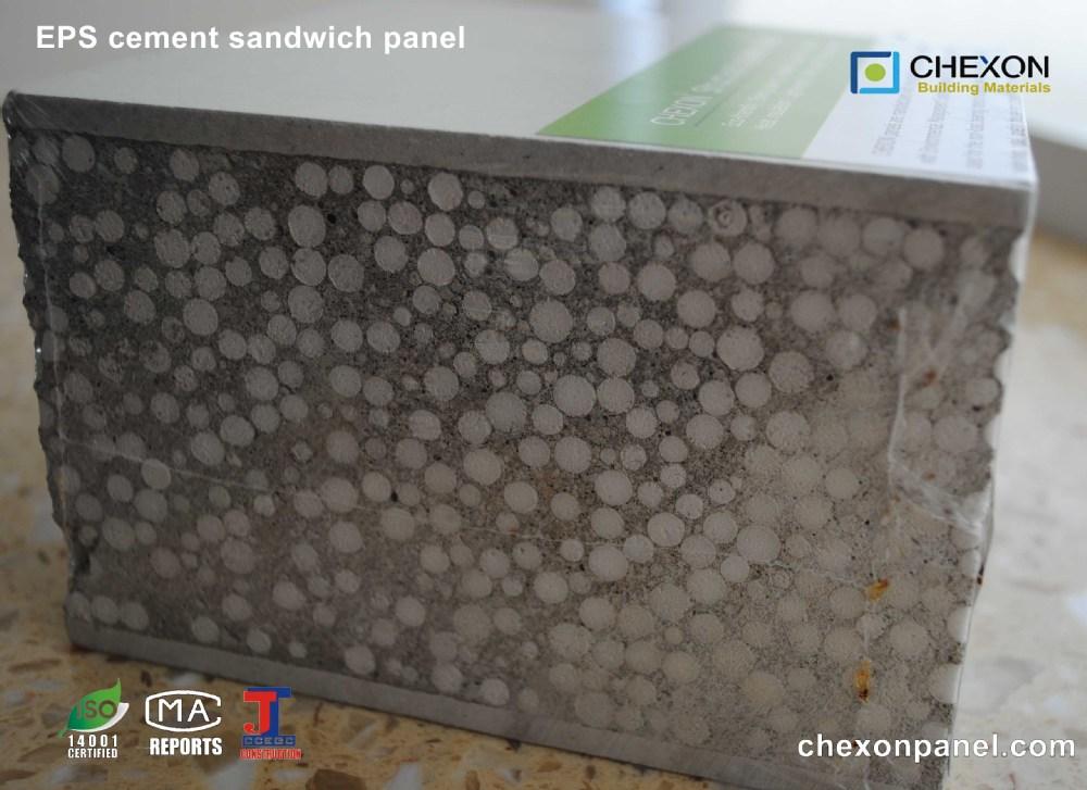 Lightweight Eps Sandwich Panel : High strenth and lightweight precast eps cement sandwich