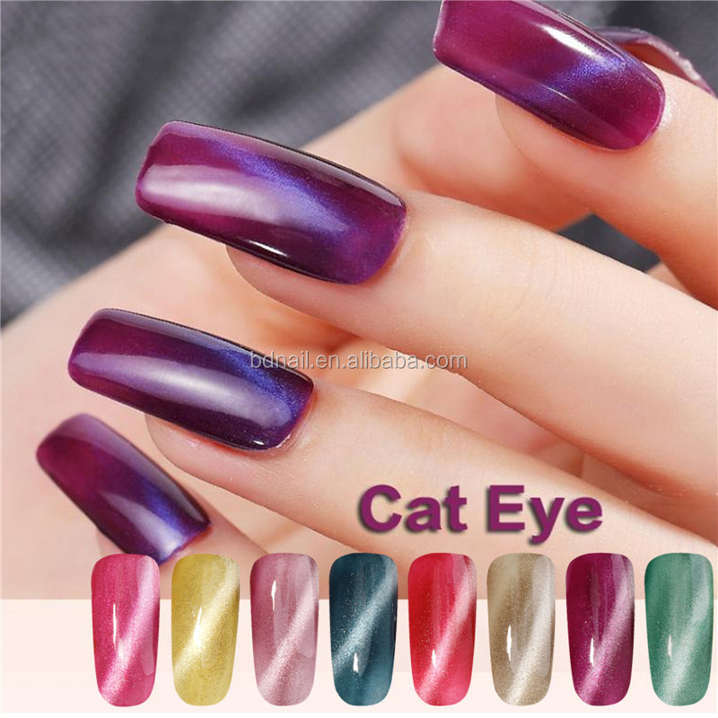 Design Your Logo Nail Polish 2m Beauty Uv Gels Cat Eye Nail Gel ...