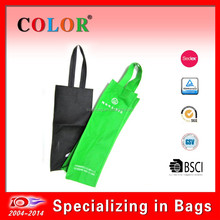 SEDEX approved cheap non woven one bottle wine bag