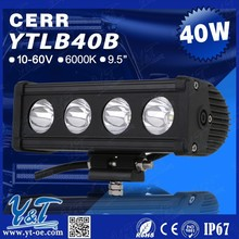 Y&T Low price high quality led light bar cover. 40W Car parts LED light bar for toyota