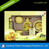 Hot sale plastic blister baby skin care packaging with printing box