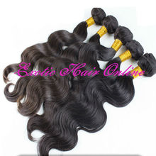 Exotichair queen hair brazilian body wave 4pcs brazil hair products