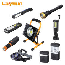 Laysun rechargeable heavy duty torch light