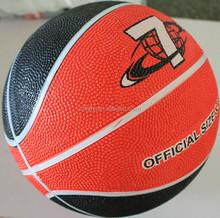 New stylish pink rubber basketball