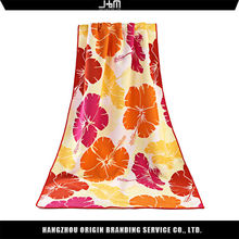 Special design colorful travel towel of beach