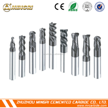 Tungsten solid carbide end mill cutter for milling carbide end mill cutter end mill cutter