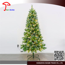 Direct Factory Price White Green Traditional Artificial Christmas Tree