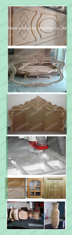 Professionele italië 9.0kw 3d luchtgekoelde spindel meubels maken ...