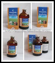 Anabolic injection Vitamin B12 + Butafosfan injection